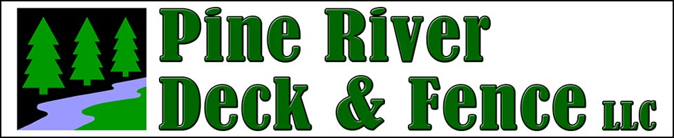 Pine River Deck and Fnece Logo