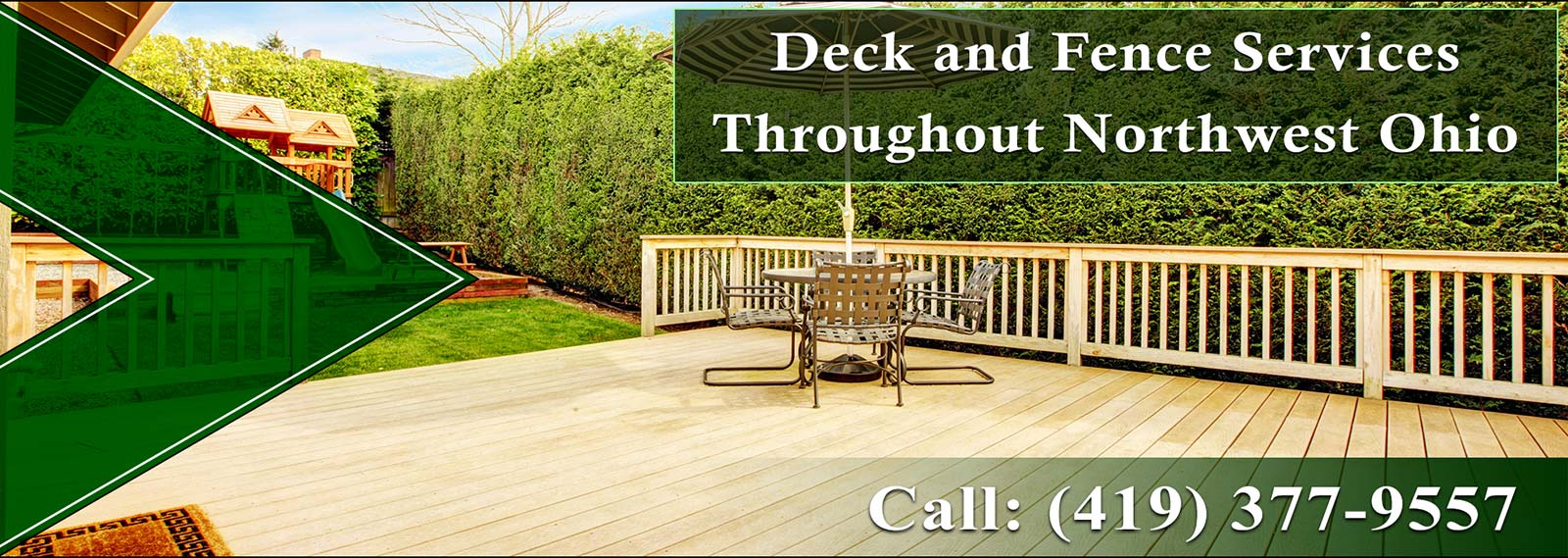 Pine River Deck and Fence